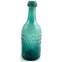 Lynde & Putnam Mineral Water Bottle, San Francisco