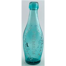 Thompsons Premium Mineral Waters Bottle, San Francisco