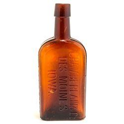Dr. VON HOPFS Bitters Bottle, Des Moines, Iowa