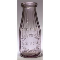 Choice Rare Tonopah Milk Bottle