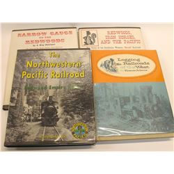 Western Logging Railroad Books (4)