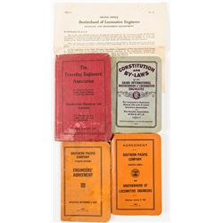 Four Railroad Express Manuals