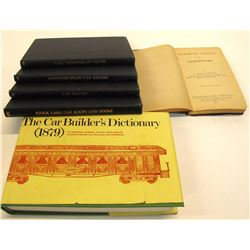 Railroad Car Related Books (6)
