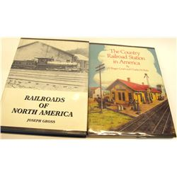 American Train Hadrcover Books (2)