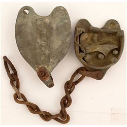 Central Pacific RR Padlock
