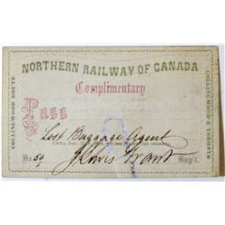 Canadian Railway Supervisor Pass