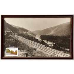 Baltimore & Ohio Railroad Framed Publicity Photo