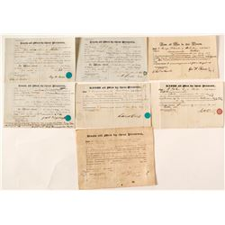 1840s Boston & Providence Railroad Documents