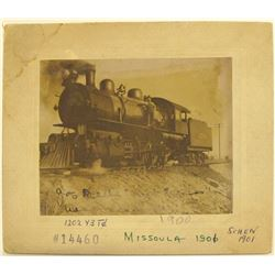 Locomotive 1202 Photo, Missoula, Montana