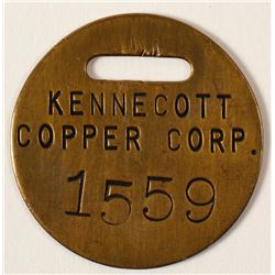 KENNECOTT COPPER CORP. Brass Tool Check
