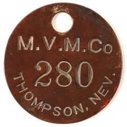 MVM Co Brass Tag
