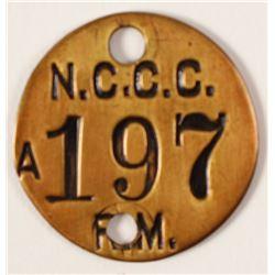 NCCC Brass Check