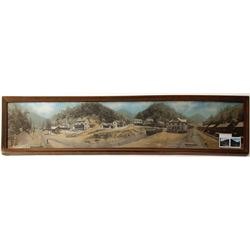Chesapeake & Ohio Railway Framed Panorama Photo