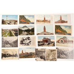 Washington State Railroad Postcards