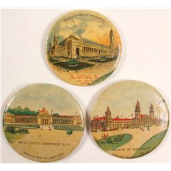 St. Louis 1904 Expo Pocket Mirrors
