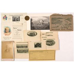 U.S. Exposition Ephemera (Assorted)