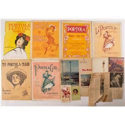 Portola Festival Exposition Ephemera