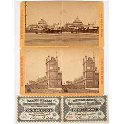 Centennial Exposition Ephemera