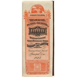 Duluth, Huron & Denver Railroad Bond