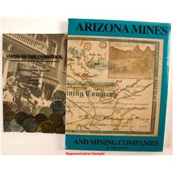 Arizona Mines, Comstock Coins Books