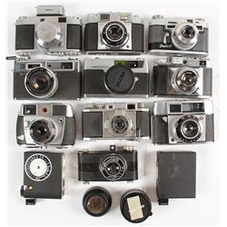 Box of 35 mm Cameras
