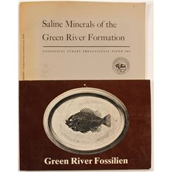 Green River Wyoming Fossil and Mineral Booklets (2)