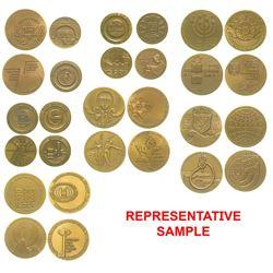 Bronze Israeli Medals (14)