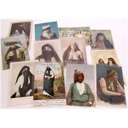 Egyptian Women Postcards (10)