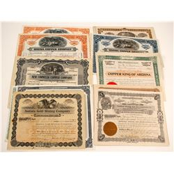 Arizona Stock Mining Certificates (19)