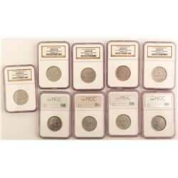 10 Kemmerer City Tokens