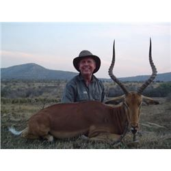 10-day Eastern Cape, South Africa Plains Game Hunt for 1 Hunter and 1 Observer