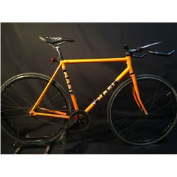 Orange Masi Speciale Fixed Single Speed Road Bike
