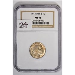 1913 5C Buffalo Nickel