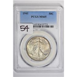 1941 50C Walking Liberty Half Dollar