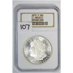 1879-S $1 Morgan Dollar