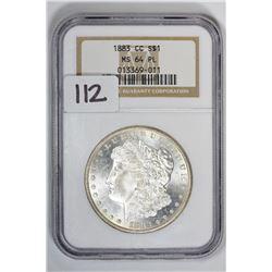1883-CC $1 Morgan Dollar