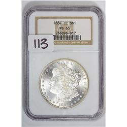 1884-CC $1 Morgan Dollar