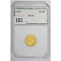 1907 $2.50 Quarter Eagle