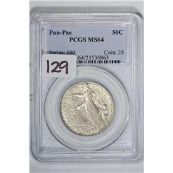 1915 50C Pan-Pac