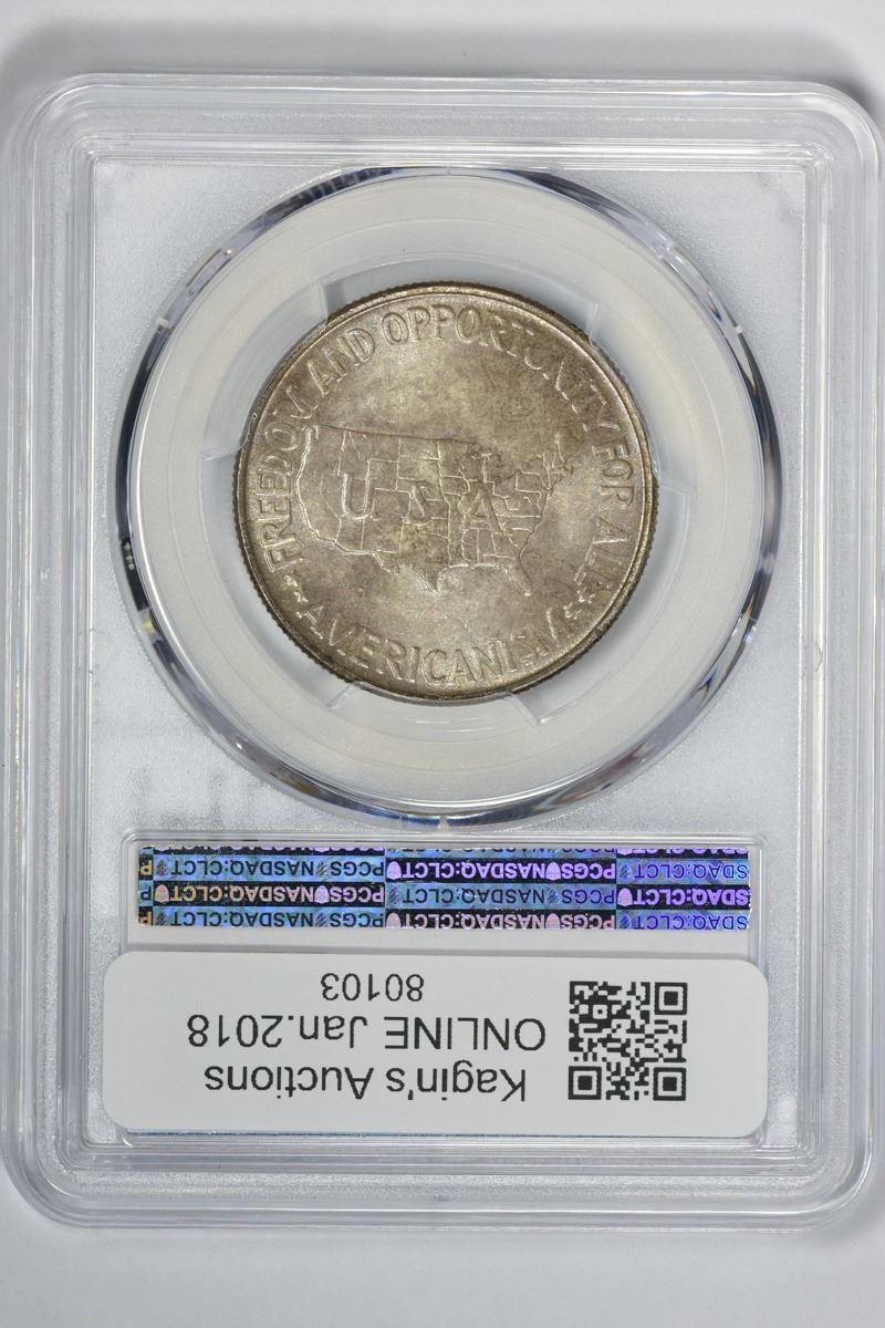1952 50c Carver//Washington Commemorative Silver Half Dollar Genuine