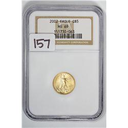 2002 $5 Eagle