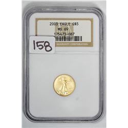 2003 $5 Eagle