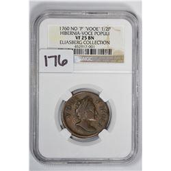 1760 1/2 Pence