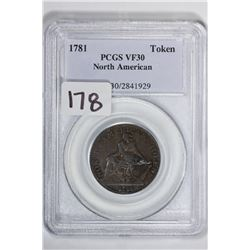1781 Token North America