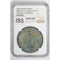 1822 Token Canada Breton-717