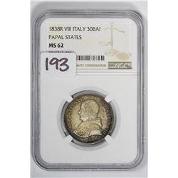 1838-R 30 Italy Bai Papal State VIII