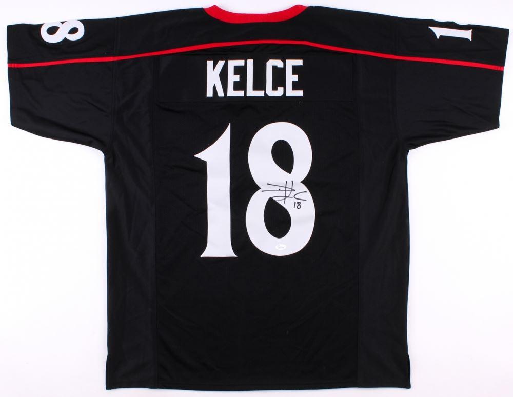 best website 8abe2 91a0f Travis Kelce Signed Cincinnati Bearcats Jersey (JSA COA)