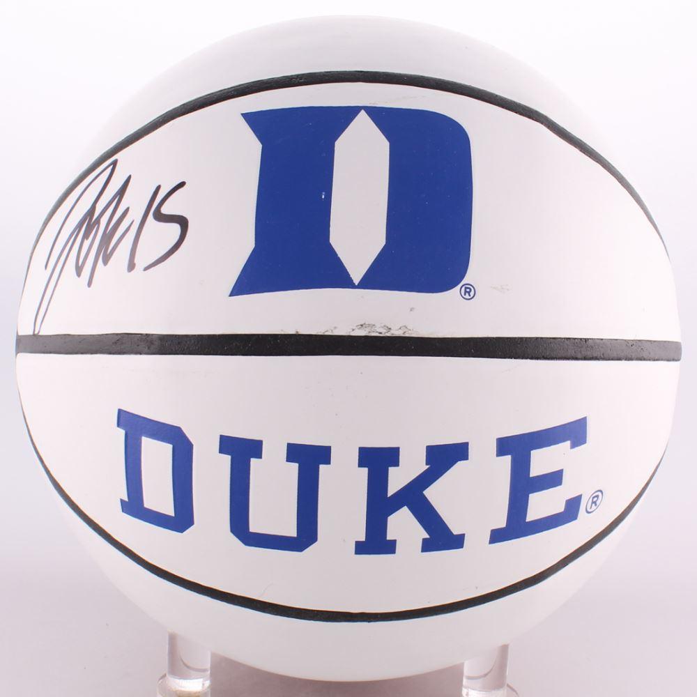 956cf1c4735b Image 1   Jahlil Okafor Signed Duke Blue Devils Logo Basketball (Schwartz  COA)