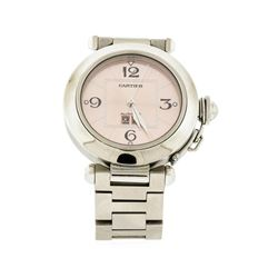 Cartier Stainless Steel Pasha C Big Date Watch
