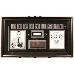 John Dillinger Autographed Bullet Collage
